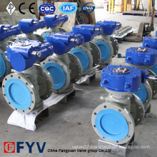 Gear Operated Lubricated Pressure Balance Plug Valve