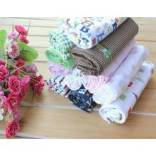 Tissu de 100% coton imprimé flanelle pour vêtement pour enfants