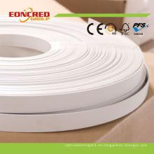 Bandas de borde de PVC para muebles / gabinete PVC borde doblado