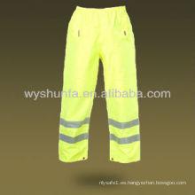 Pantalones de seguridad reflectantes Hi Vis