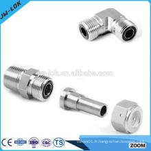 Raccords de tubes hydrauliques à compression Ss316