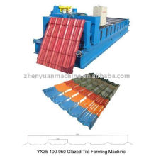 Glazed tile forming machine,glazed roofing tile roll former,cold rolling machinery