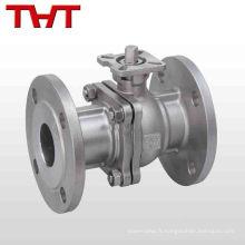 Robinet à tournant sphérique de robinet d'arrêt en acier fonte dn50 pn16