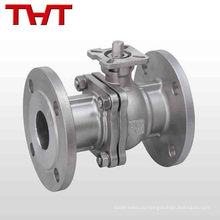 Литой стальной Ду50 Ру16 Фланцевый кран Тип шариковый клапан