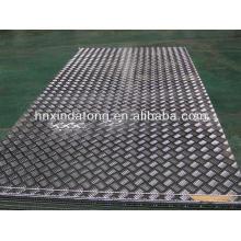 5 Bars embossed Aluminum sheet