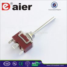 High Quality SPDTON-OFF-ON Long Handle Heavy Duty Toggle Switch (CE/TUV/QCQ)
