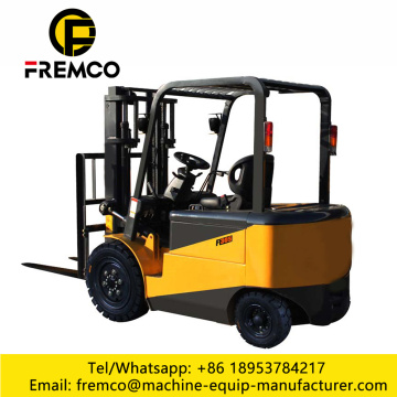 4 Wheel Electric Forklift Trucks Price