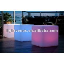 Cubo LED para uso ao ar livre