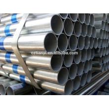 Venda quente galvanizado viu tubos de aço carbono