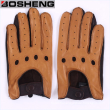 Lady Gloves Driving Cycling Gloves Unlined Fingerless Leather Gloves