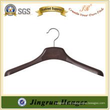 Artigo de vestuário para exibir cabide de roupas em plástico
