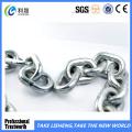 Corrente de elo curta galvanizada elétrica soldada elétrica lisa de DIN5685A