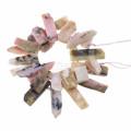 Gets.com 2016 горячий розовый розовый опал шарик 32pcs / strand естественный шарик gemstone