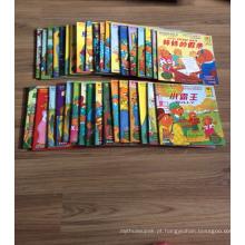 A4 livro de colorir de caderno de papel de caderno de capa dura livro de colorir de bloco de desenho de crianças