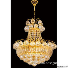 Luxury popular crystal glass pendant lamp modern style