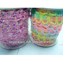 new unique design for cotton dressing lace