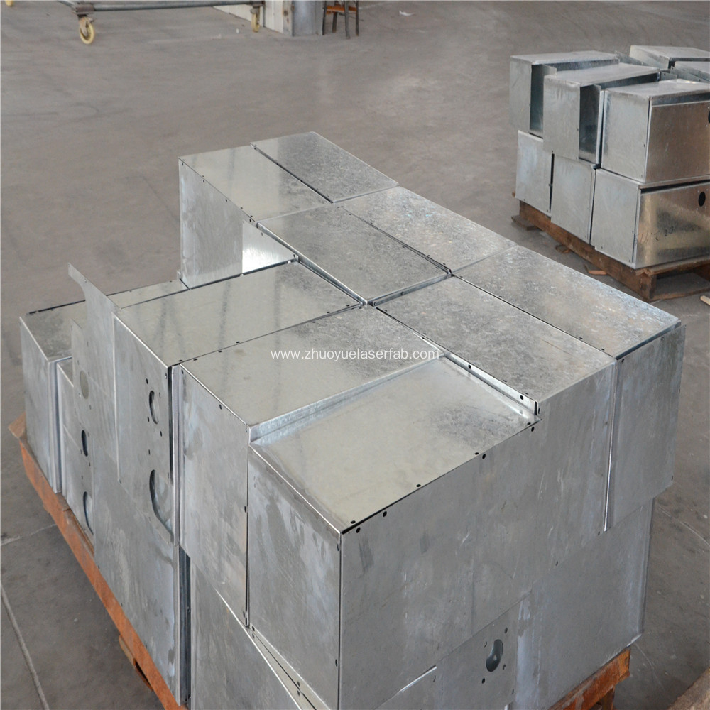 Galvanized Sheet Metal Fabrication Service