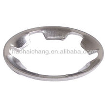 Stainless steel tooth type snap clamp ring or gasket for electric heating equipment