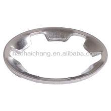 Tipo de dente de aço inoxidável snap anel de fixação ou junta para equipamentos de aquecimento elétrico