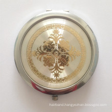 Portable Cosmetic Mirror with Epoxy (BOX-14)