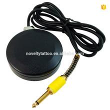 Nouveauté N1007-2 Tattoo Alimentation pédale Commande ronde Tattoo Foot Switch