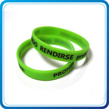 2016 Trending Products Silicon Wristband Glow in The Dark (HN-SB-008)