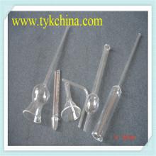 Cristalería de laboratorio de vidrio de borosilicato