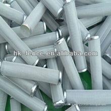 Cartuchos de filtro SS aglomerados fábrica