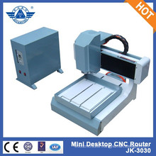 JK-3030 3 axis or 4 axis mini desktop cnc router advertising cnc router/engraver