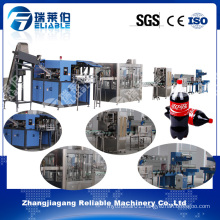Complete Carbonated Beverage Automatic Bottling Plant Machine