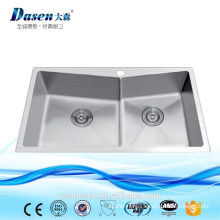 DS-7845H Stain Finish hand wash stainless steel sink stone trough sinks sink caddy