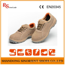 Supplier Cheap Wholesale Leather Ladies High Heel Safety Shoes