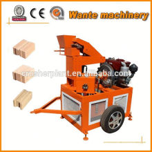 WT1-20 interlocking hollow block making machine