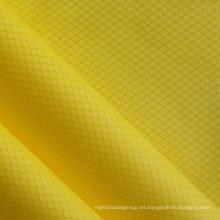 Impermeable Ripstop tela de nylon de diamantes para bolsas con PU (XQ-054)
