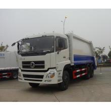 Caminhão de lixo de compressão Dongfeng de 6 * 4 com 18cbm de capacidade