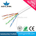 2 pairs 24awg cat.5 utp cable factory price with CE RoHs UL FCC Certifications