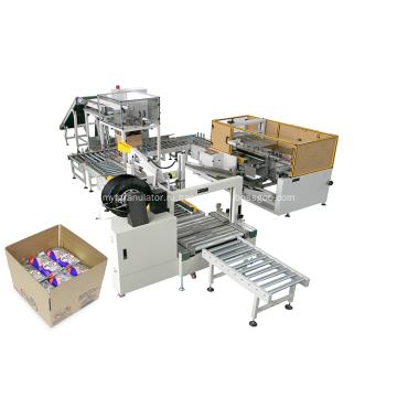 Настраиваемая автоматическая машина для упаковки в коробки