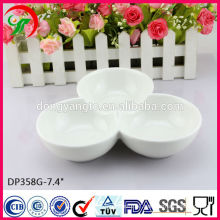 porcelain white Three tray