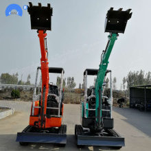 Discount Price for 0.8T Small Excavator 1.8 Ton Mini Excavator Machinery with bulldozer supply to Suriname Factories