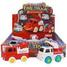 Caja de paquete Inercia Fire Truck Toy
