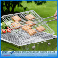 Galvanized Crimped BBQ Grill Wire Mesh