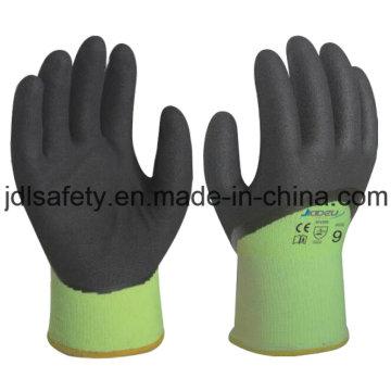 Сэнди нитрила покрытием перчатки для зимы (N1580)