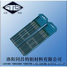 Mejor precio alta calidad tungsteno electrodos del tungsteno disponibles en tamaños