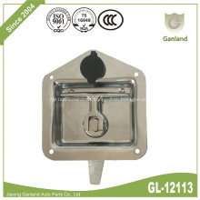 Steel Panel Lock Flush Mount T Handle Latch