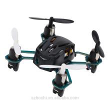 Original Hubsan Q4 H111 4-CH 2.4GHz 6-axis Gyro Mini Drone RC Quadcopter RTF UFO with LED Light