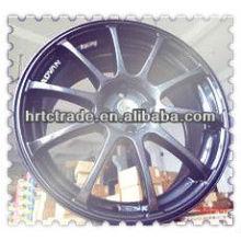 17 pulgadas hermosas de 4 agujeros de 100 mm replica coche deportivo rueda