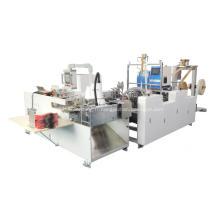 Machine de collage automatique de poignée de papier torsadée