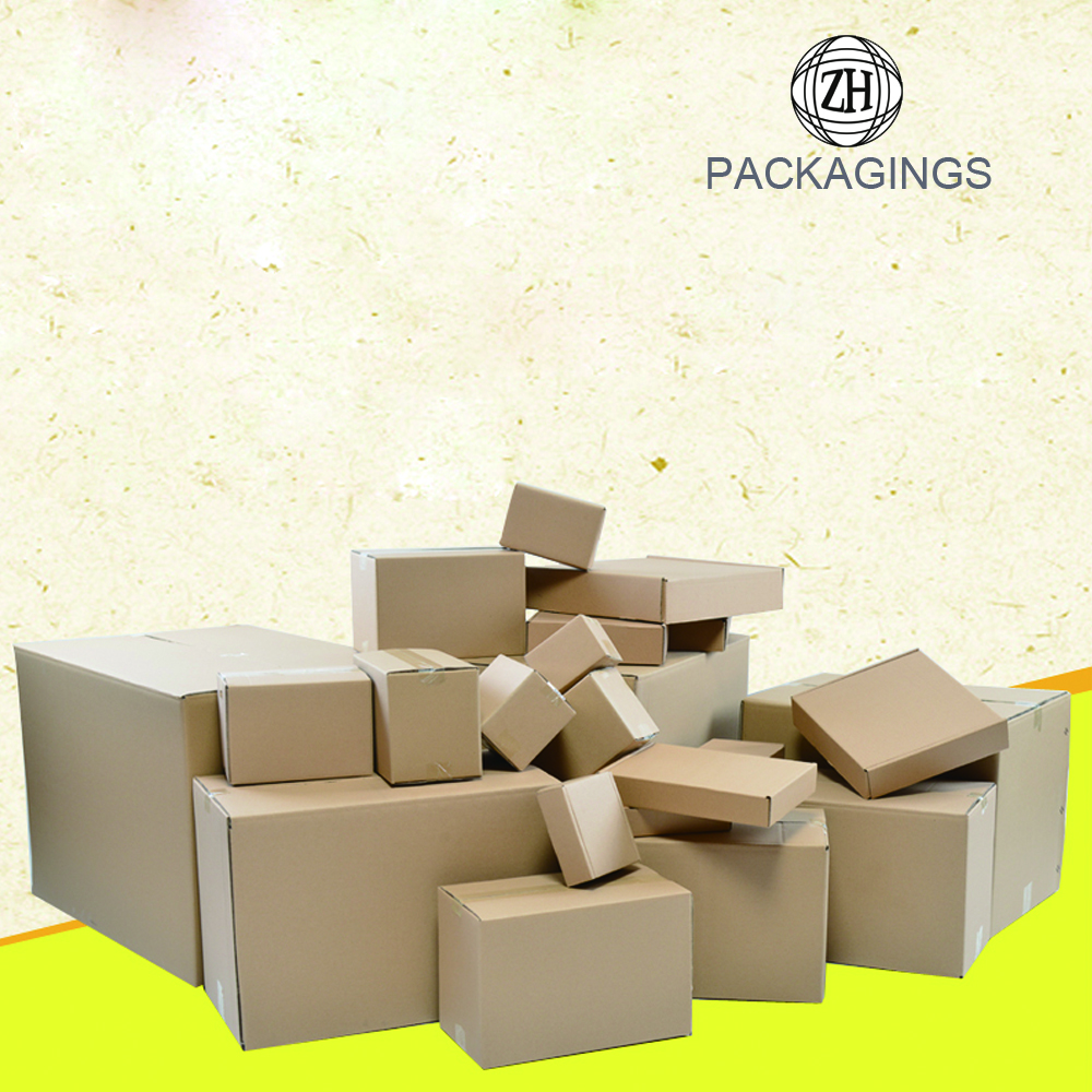 7-ply kraft corrugated paper carton box