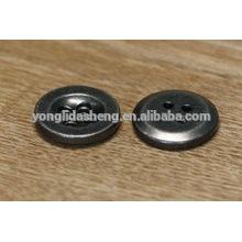 Boutons métalliques de fantaisie pour vêtements, bouton personnalisé en métal