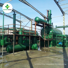 Used engine oil pyrolysis oil distillation machine